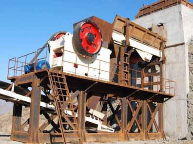 山西省时产400吨颚式破碎机生产线展示及配置