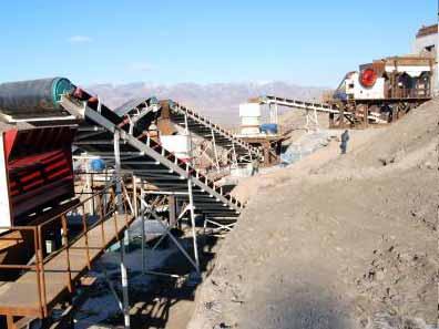 宜阳时产200吨鹅卵石破碎砂石生产线开机
