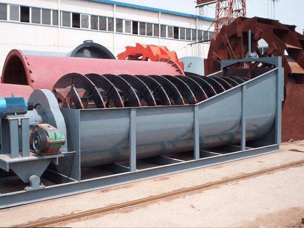6米螺旋式洗砂機