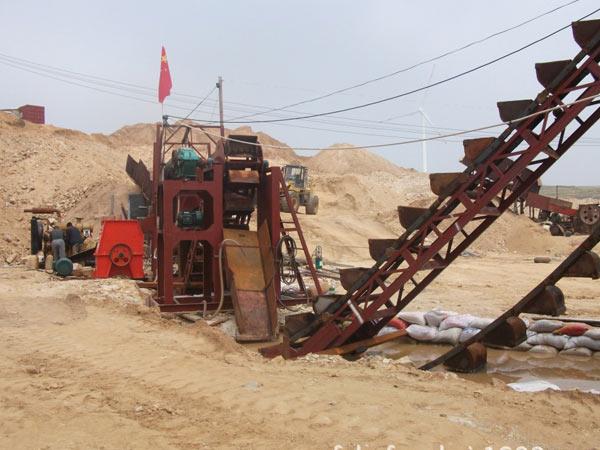 挖斗洗砂機