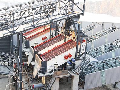 河南新乡时产400吨河卵石制砂生产线